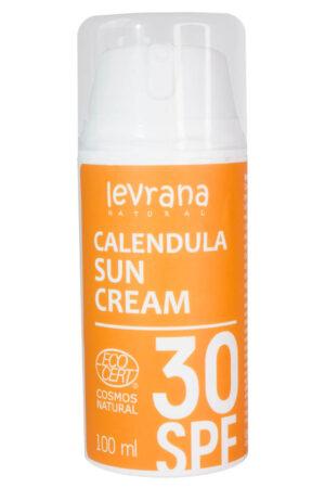 Солнцезащитный крем Календула SPF30 LEVRANA, 100 мл