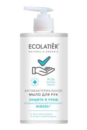 Мыло для рук антибактериальное Защита и уход ECOLATIER