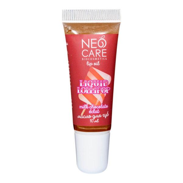 Масло для губ «Liquid Lollipop» Milk chocolate éclat NEO CARE