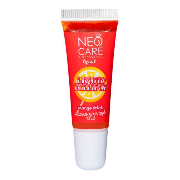 Масло для губ «Liquid Lollipop» Orange éclat NEO CARE