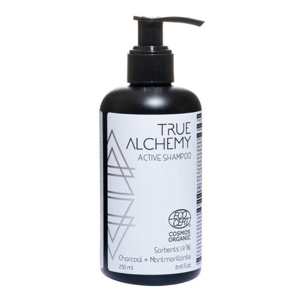 Шампунь Sorbents 1.9%: Charcoal + Montmorillonite TRUE ALCHEMY