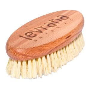 Щетка для сухого массажа (натуральное волокно) LEVRANA