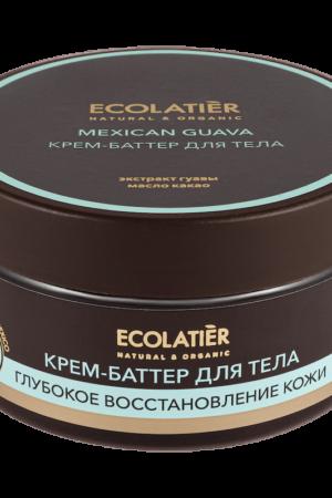 Крем-баттер для тела глубокое восстановление кожи Мексиканская гуава ECOLATIER