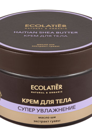 Крем для тела супер-увлажнение Гаитянское масло ши ECOLATIER