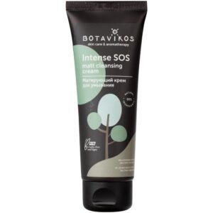 Матирующий крем для умывания Intense Matt cleancing cream BOTAVIKOS