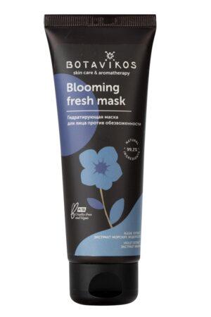 Мягкий эксфолиант для очищения лица Blooming fresh BOTAVIKOS