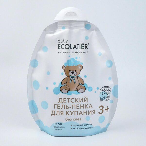 Детский гель-пенка для купания 3+ (дой-пак) ECOLATIER