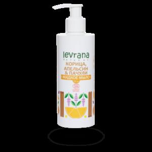 Жидкое мыло Корица, апельсин и пачули LEVRANA