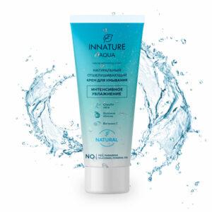 Крем для умывания Aqua отшелушивающий INNATURE