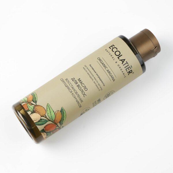 Масло для волос Глубокое восстановление секущихся кончиков ECOLATIER