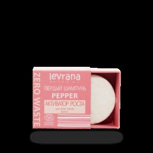 Твердый шампунь Pepper активатор роста LEVRANA