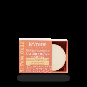 Твердый шампунь Sea buckthorn & citrus восстанавливающий LEVRANA
