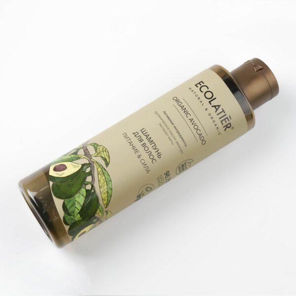 Шампунь для волос Питание и сила ECOLATIER
